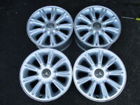 """VT CALAIS S1 16"""" X 7 INCH ALLOY MAG WHEELS & CAPS HOLDEN COMMODORE VX VY VZ"""