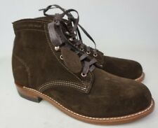 Wolverine 1000 Mile Brown Suede Boots Size 8 D