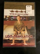 Lost In Translation (Dvd, 2004) New & Factory Sealed Bill Murray Sofia Coppola
