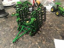1/64 Custom John Deere Cultivator With Harrow Farm Toy