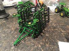 1/64 Custom John Deere Cultivator With Harrow Farm Toy