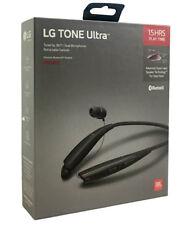 Lg Tone Ultra Hbs-835 Bluetooth Wireless Stereo Headset w/ Jbl Sound - Black