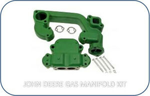 F1421R F1422R Intake Exhaust Manifold JOHN DEERE 70 Gas Tractor with Bolt Kit