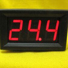 LED Volt Gauge Meter Voltage RED Panel Voltmeter Battery DC 24V 36V 48V 96V 120V