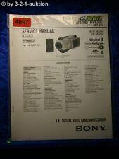 Sony service manual clés prévues trv725e trv730e trv828e trv830e Level 1 video (#4867)