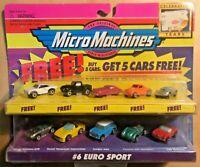 Micro Machines #6 Eurosport ORIGINAL MoC - with 5 model Free Offer