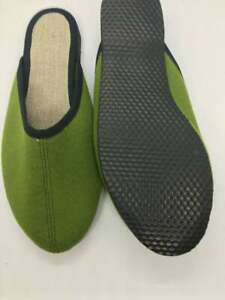 Hemp slippers for men, Set of two pairs