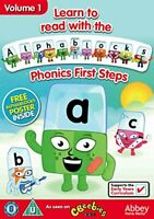 Learn To Read With Alphablocks - Phonics First Steps Volume 1 [DVD][Region 2]