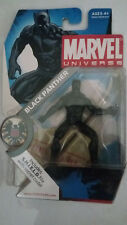 NEW NIB HASBRO MARVEL UNIVERSE BLACK PANTHER SERIES 1 005 WITH S.H.I.E.L.D. FILE