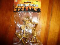 RUSSIAN/WESTERN KNIGHTS ,1.32 SCALE PLASTIC NEW