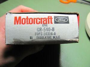 NOS Ford F0PZ-10316-A Motorcraft GR-540-B Voltage Regulator 1980-92 Many Appl.