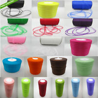 "Wholesale! 100-1000 Yard 3/8"" 10mm Satin Edge Sheer Organza Ribbon Bow Craft DIY"