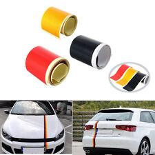 3.6M Car PVC Germany Flag Stripes Decal Sticker Self-adhesive For Audi / VW/ BMW