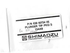 SHIMADZU Teflon Syringe Tips for 250ul Syringe Pack of 3 638-60734-05