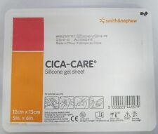 "Smith&nephew Cica-Care Silicone Gel Scar Sheet 4 3/4"" X 6"" Reusable"