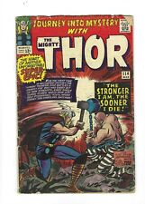 Journey into Mystery #114  THOR, 1st Absorbing Man! 5.0 VG/FN, 1965 Marvel