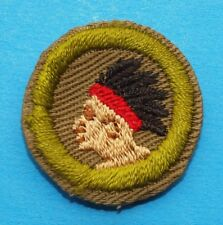 PATHFINDING TYPE C OLIVE COLOR  MERIT BADGE   - BOY SCOUTS - 6787
