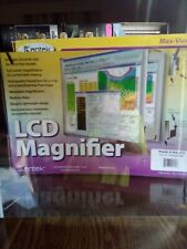 """Kantek LCD Monitor Magnifier Filter, Fits 17"""" LCD 750333105797"""