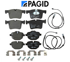 Front Brake Pads & Rear Brake Pads Set OEM Pagid + Sensors BMW X3 X4 2011-2018