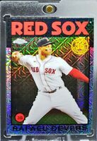 2021 Topps Chrome Silver Pack 1986 Mojo Refractor Rafael Devers Red Sox Nice!!