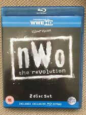 WWE WWF WCW Blu Ray nWo New World Order Revolution 2 Disk set