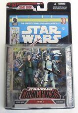 Star Wars Comic Packs Governor Tarkin Stormtrooper action figure comic set NIB