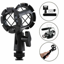 Camera Shock Mount Suspension Holder With Hot shoe For Microphone Mic camera SL