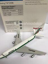 Boeing 747-200B Alitalia Herpa 503075 1:500 in OVP