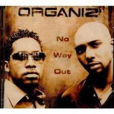 RARE ORGANIZ - CD ALBUM  NO WAY OUT - SOUL R&B 12 TITRES 2001