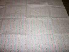 52 wide by 20 long Vintage Stripe Fabric Piece