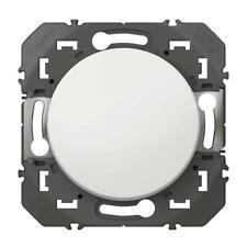 interrupteur LEGRAND Poussoir simple dooxie 6A 250V~ finition blanc 600004