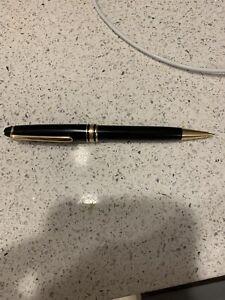 Montblanc Meisterstuck Classique Mechanical Pencil .7mm Black/Gold