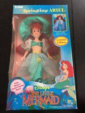 Vintage Springtime Ariel The Little Mermaid Tyco Disney Doll 1991