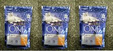 3 packs x Purina One Bifensis adult dry cat food with chicken and whole grains