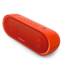SONY SRS-XB20 PORTABLE BLUETOOTH WIRELESS SPEAKER @ WATER-RESISTANT @ NFC @ RED