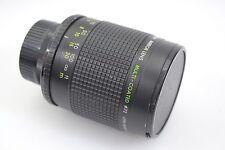 CAMBRON 500mm F8 REFLEX MIRROR LENS w/T-MOUNT FOR NIKON MOUNT, CAPS