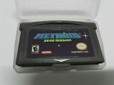 Metroid Zero Mission Game Boy Advance game w/ CASE GBA