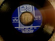 VAN DYKES~NEVER LET ME GO~NEAR MINT 539~MALA~I'VE GOT TO FIND A LOVE~ SOUL 45