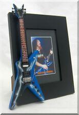 DIMEBAG DARRELL  Miniature Guitar Frame  PANTERA Lightning