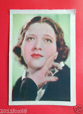 actors acteurs figurine cards nestle stars of the silver screen #1 kay francis v