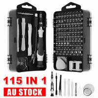 115 IN 1 Precision Screwdriver Set Torx Computer PC Phone Watch Repair Tool Kit