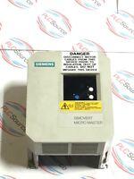 SIEMENS  6SE3015-8DC00 SIMOVERT MICRO MASTER SERVO DRIVE