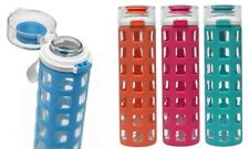 LTB: ELLO GLASS WATER BOTTLE W/ SILICONE GRIP PROTECTOR 20oz - Pomelo