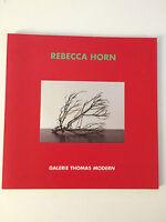 REBECCA HORN, 'BLACK MOON RIVER' exhibition catalogue, 2014.