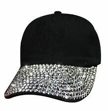 Bling Bill Women Hat Fashion 6 Panel Faux Leather Strap / Buckle Closure