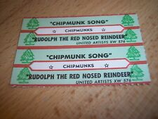 """2 Firefall Just Remember I Love You Jukebox Title Strips for CD 7/"""" 45RPM Records"""