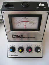 PM2A COLOR ANALYZER BY BESELER  MADE IN USA