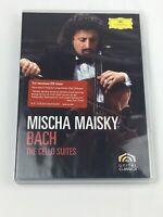Mischa Maisky - 6 Suites For Solo Violoncello, BWV 1007-1012 (DVD, 2007,...