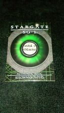 Stargate R10 Kelownan Papers Prop Card