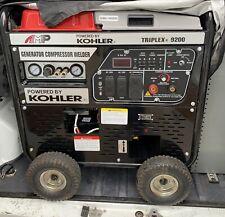 Kohler Amp Triplex 9200 3-In-1 Industrial Generator Welder Air Compressor /Local